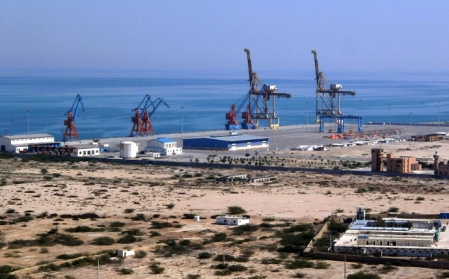 PAKISTAN-CHINA-UNREST-ECONOMY-PORT,FOCUS