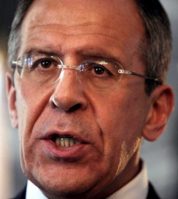 Russian Foreign Minister Sergei Lavrov visits